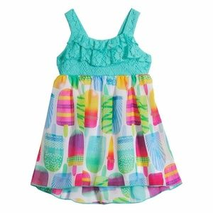Youngland Lace Popsicle Dress 12, 18, 24 Mo.